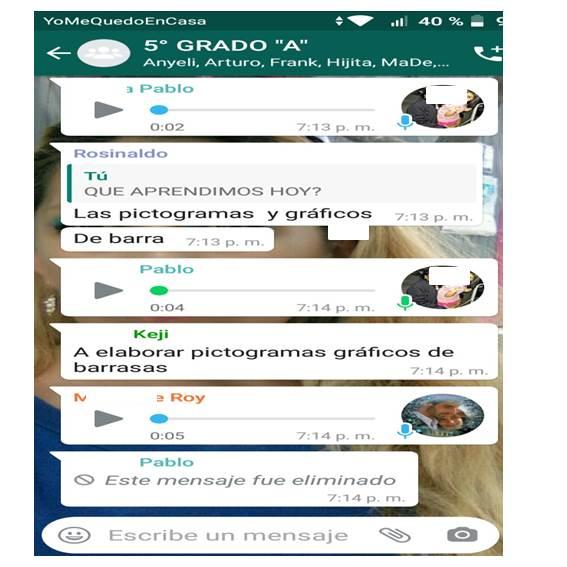 clases virtuales por whatsApp