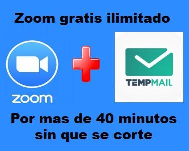 Cómo usar ZOOM ilimitadamente por más de 40 minutos sin que se corte y gratis