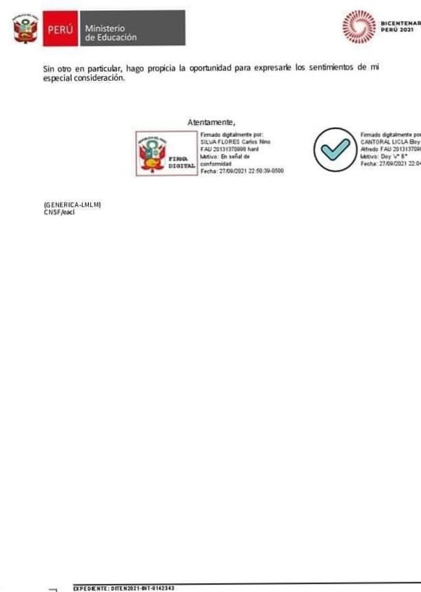 Oficio Multiple N° 0063 2021 MINEDU  VMGP DIGEDD- DITEN
